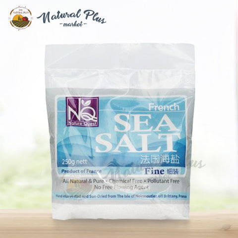 Country Farm Nat French Sea Salt - Fine ( Pkt )
