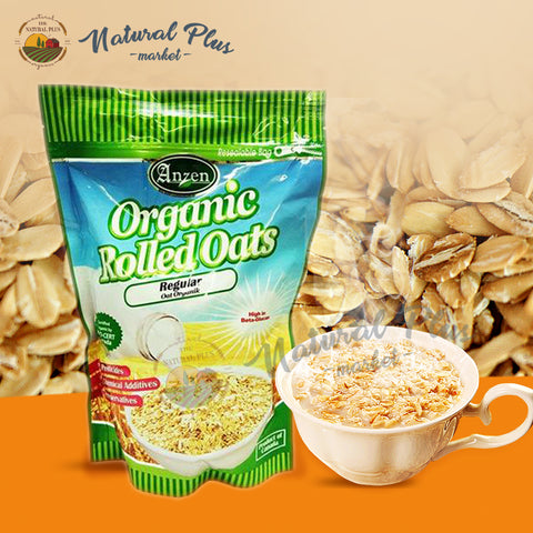 Anzen Organic Regular Rolled Oats   有机燕麦片