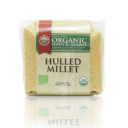 Country Farm Organic Hulled Millet 有机小米