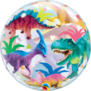 BUBBLE COLORFUL DINOSAUR - Uptown Parties & Balloons