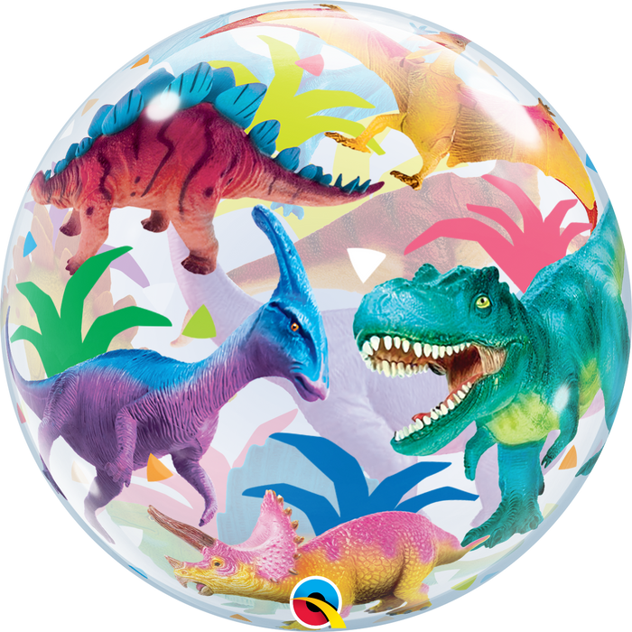 BUBBLE COLORFUL DINOSAUR