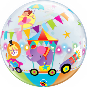 Circus Parade Bubble - Uptown Parties & Balloons