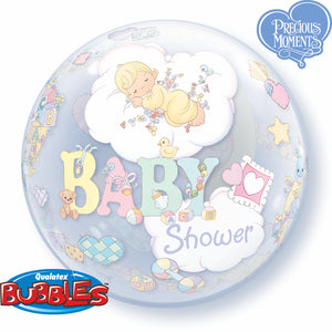 Precious Moments Baby Shower Bubble - Uptown Parties & Balloons