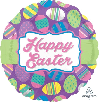 "18"" Happy Easter Balloon - Uptown Parties & Balloons"