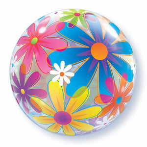 Fanciful Flowers Bubble - Uptown Parties & Balloons