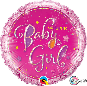 Welcome Baby Girl - Uptown Parties & Balloons