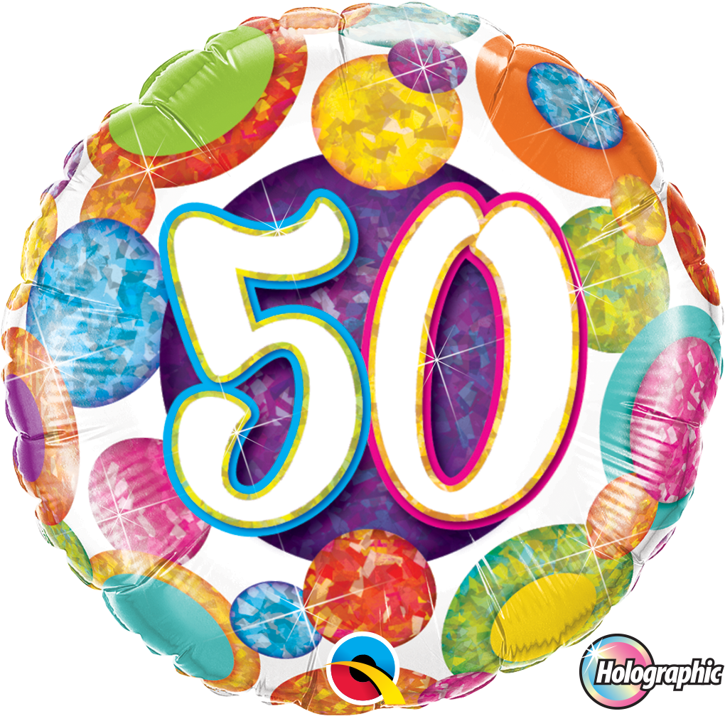 50 Big Dots And Glitz - Uptown Parties & Balloons