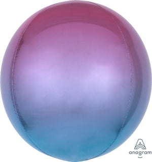 OMBRE ORBZ PURPLE/BLUE - Uptown Parties & Balloons