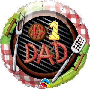 #1 Dad BBQ - Uptown Parties & Balloons