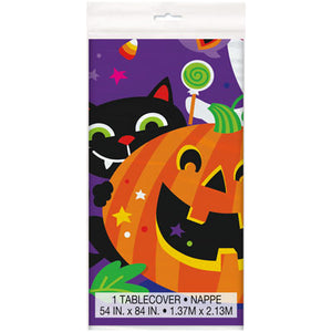 HAPPY HALLOWEEN TABLECOVER - Uptown Parties & Balloons