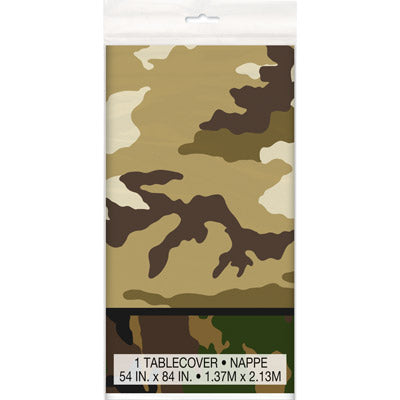 Camo Party Tablecover - Uptown Parties & Balloons