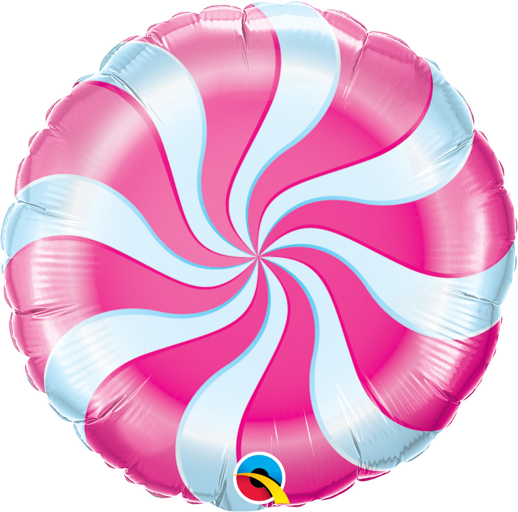 Candy Swirl Magenta - Uptown Parties & Balloons