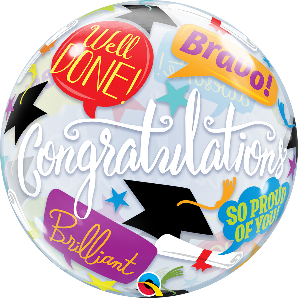 BUBBLE GRAD  ACCOLADES - Uptown Parties & Balloons