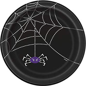 "SPIDER WEB 9"" PLATES - Uptown Parties & Balloons"