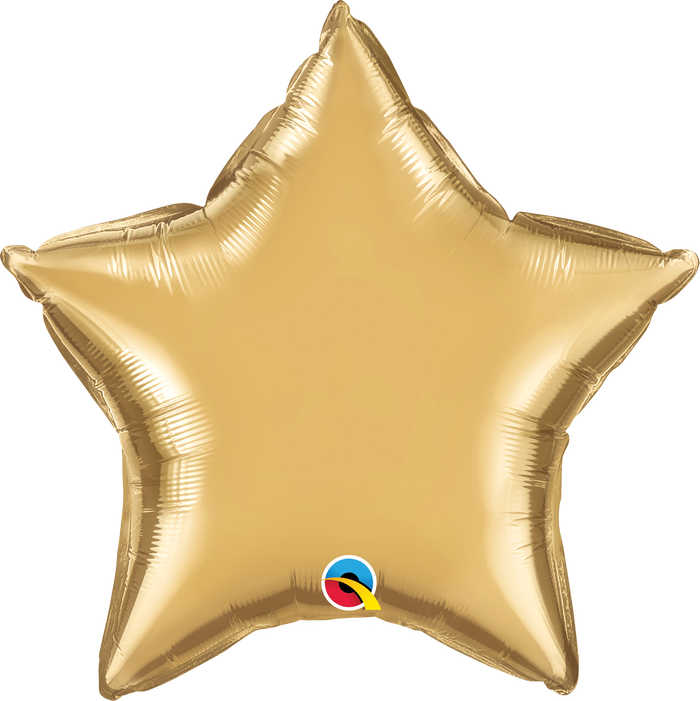 "20"" Chrome Gold Star"