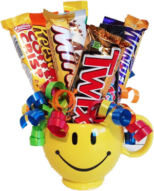 Be Happy Candy Bouquet - Uptown Parties & Balloons