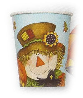 CUPS 9OZ HAPPY FALL PARTY