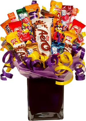 Premium Candy Bouquet - Uptown Parties & Balloons