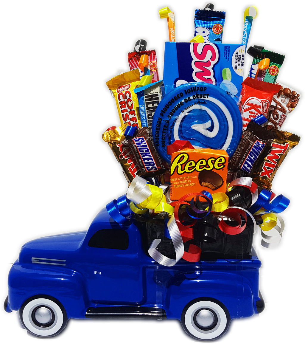 Deluxe Truck Candy Bouquet - Uptown Parties & Balloons