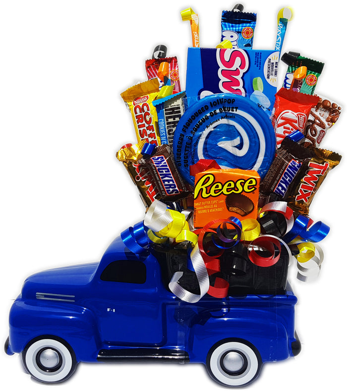 Deluxe Truck Candy Bouquet