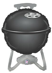 Super Shape BBQ Grill Black - Uptown Parties & Balloons