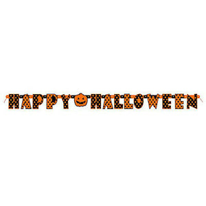 HAPPY HALLOWEEN BANNER - Uptown Parties & Balloons