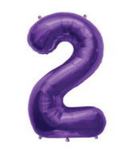 SuperShape 2 Purple - Uptown Parties & Balloons