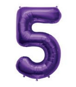 SuperShape 5 Purple - Uptown Parties & Balloons