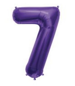 SuperShape 7 Purple - Uptown Parties & Balloons