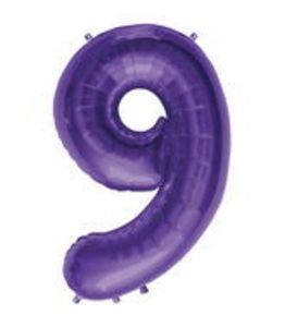 SuperShape 9 Purple - Uptown Parties & Balloons