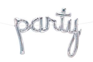 Party Script, Silver Holographic