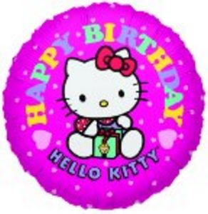 Hello Kitty Happy Birthday - Uptown Parties & Balloons