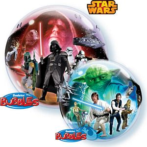 Star Wars Bubble - Uptown Parties & Balloons