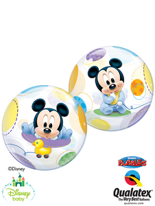 Disney Baby Mickey Mouse Bubble - Uptown Parties & Balloons