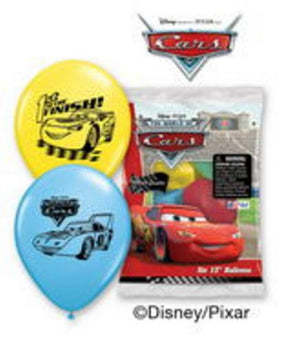 Cars Latex Balloons - Uptown Parties & Balloons