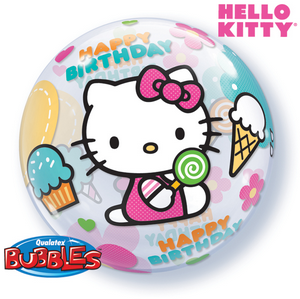 Hello Kitty HBD Bubble - Uptown Parties & Balloons