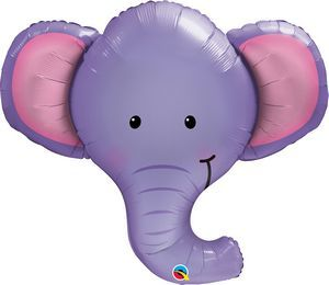 Ellie The Elephant SuperShape - Uptown Parties & Balloons