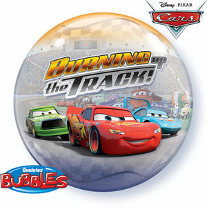 Cars Bubble - Uptown Parties & Balloons