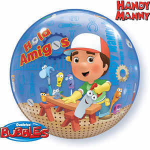 Handy Manny Bubble - Uptown Parties & Balloons