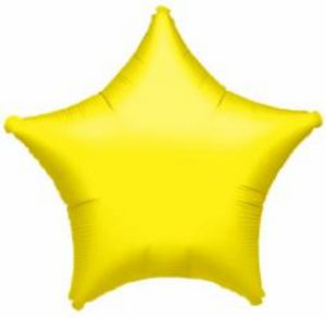 "18"" Lite Metallic Gold Foil Star"