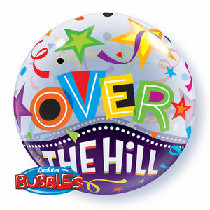 Over The Hill Brilliant Stars Bubble - Uptown Parties & Balloons