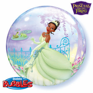 The Princess And The Frog Bubble - Uptown Parties & Balloons