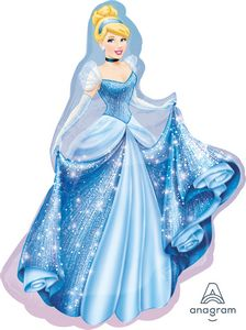 Cinderella SuperShape - Uptown Parties & Balloons