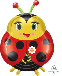 Ladybug SuperShape - Uptown Parties & Balloons