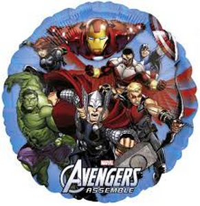 Avengers - Uptown Parties & Balloons