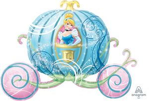 Cinderella Carriage SuperShape - Uptown Parties & Balloons