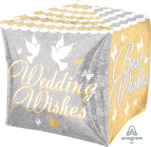 Wedding Wishes Cubez
