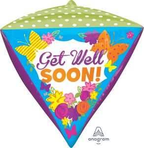 Get Well Soon! Diamondz - Uptown Parties & Balloons
