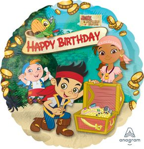 Jake And The Neverland Pirates Happy Birthday - Uptown Parties & Balloons