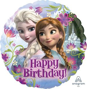Frozen Happy Birthday - Uptown Parties & Balloons